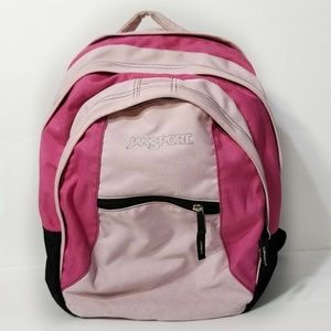 Jansport Pink Multi-Compartment Backpack